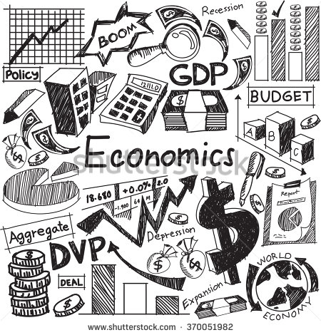 450x470 Economics And Financial Education Handwriting Doodle Icon