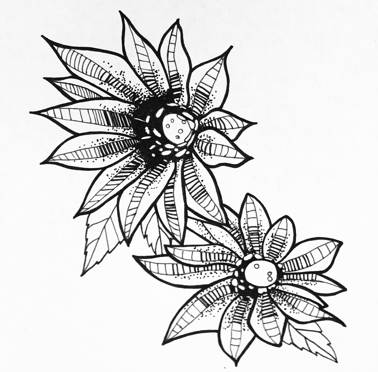 1600x1575 Flash Art Of Female Tattooer In Joplin United States Rhona Mcbai