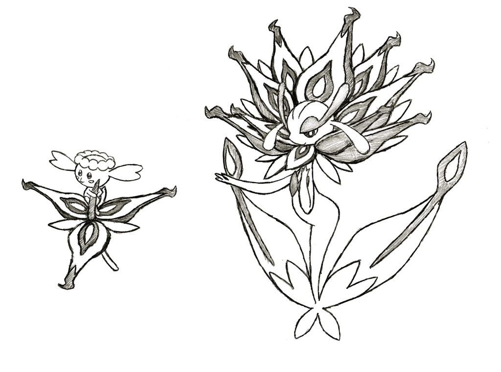 1024x760 Project FakemonEternal Flower Flabebe And Florges By XXD17 On