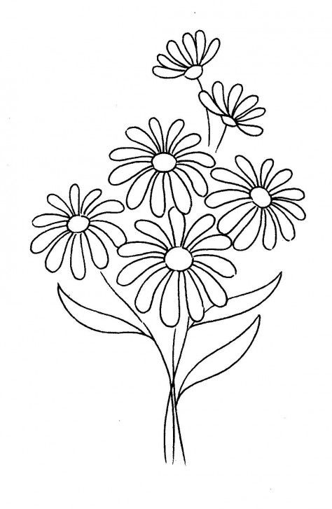 474x727 The Best Daisy Flower Drawing Ideas On How To Draw