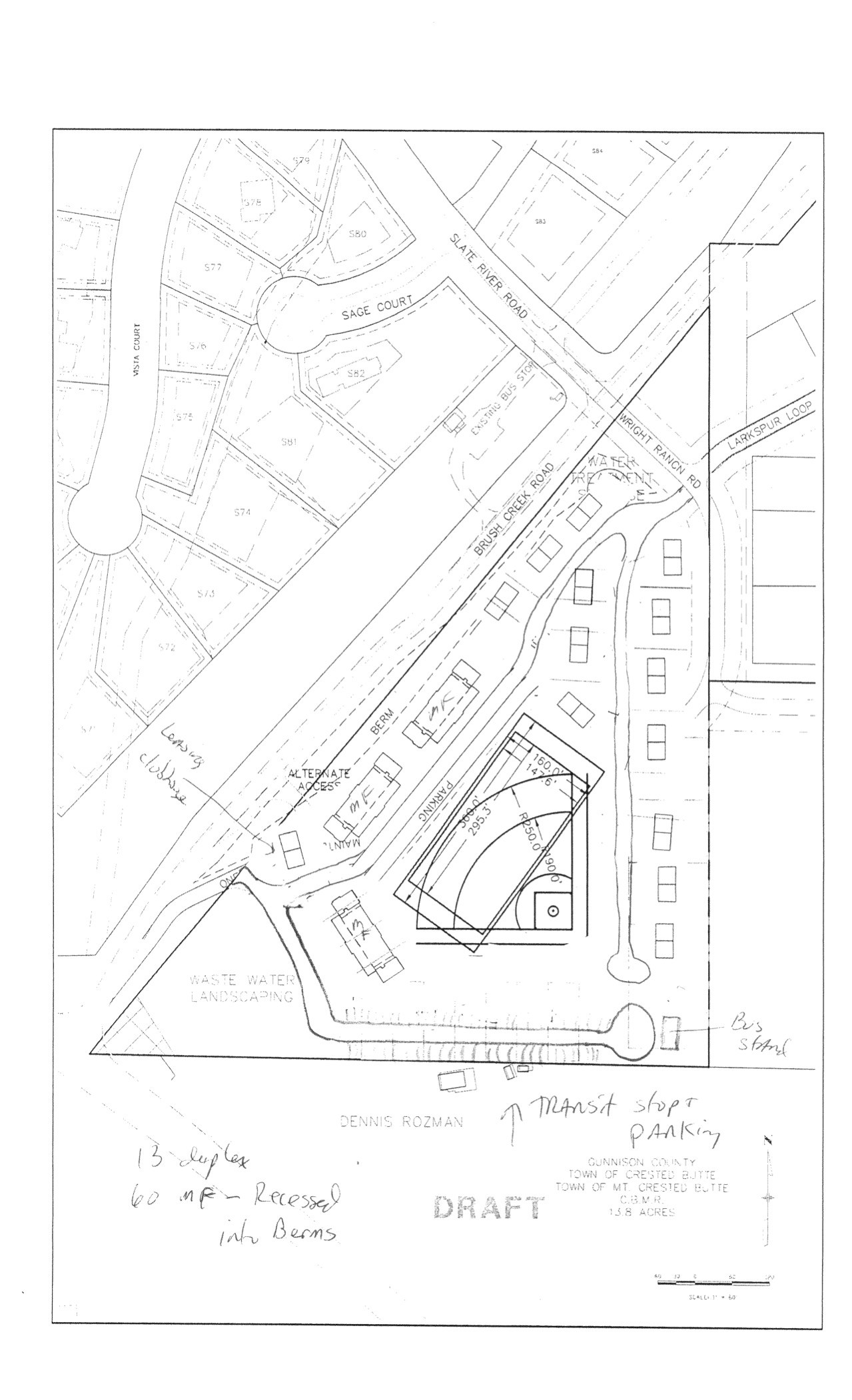1279x2102 Summary Of Alternative Plan, Friends Of Brush Creek