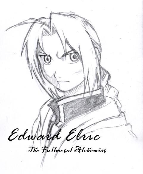 480x585 Edward Elric 2 By Clowkusanagi