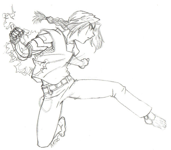 600x527 Edward Elric Sketch By Natchan84