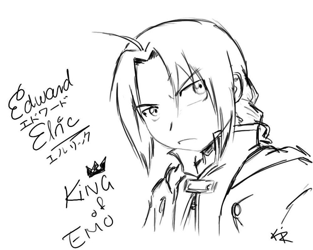 999x799 Edward Elric By Kra