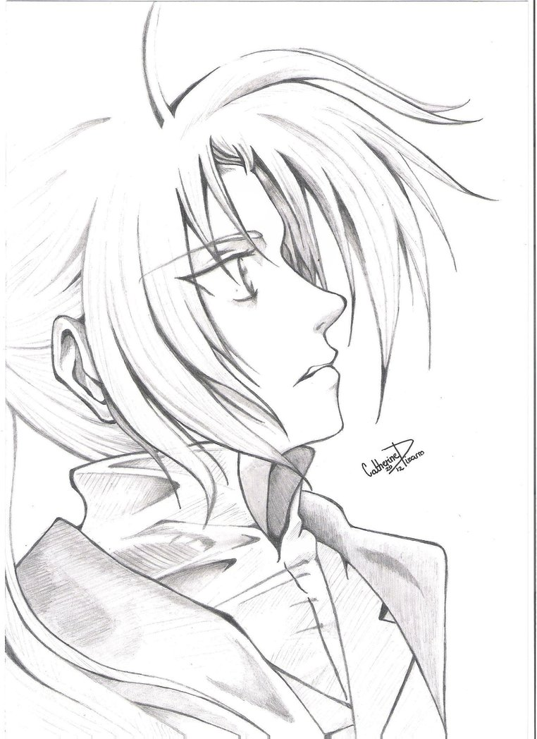762x1048 Edward Elric From Fullmetal Alchemist By Tinten97