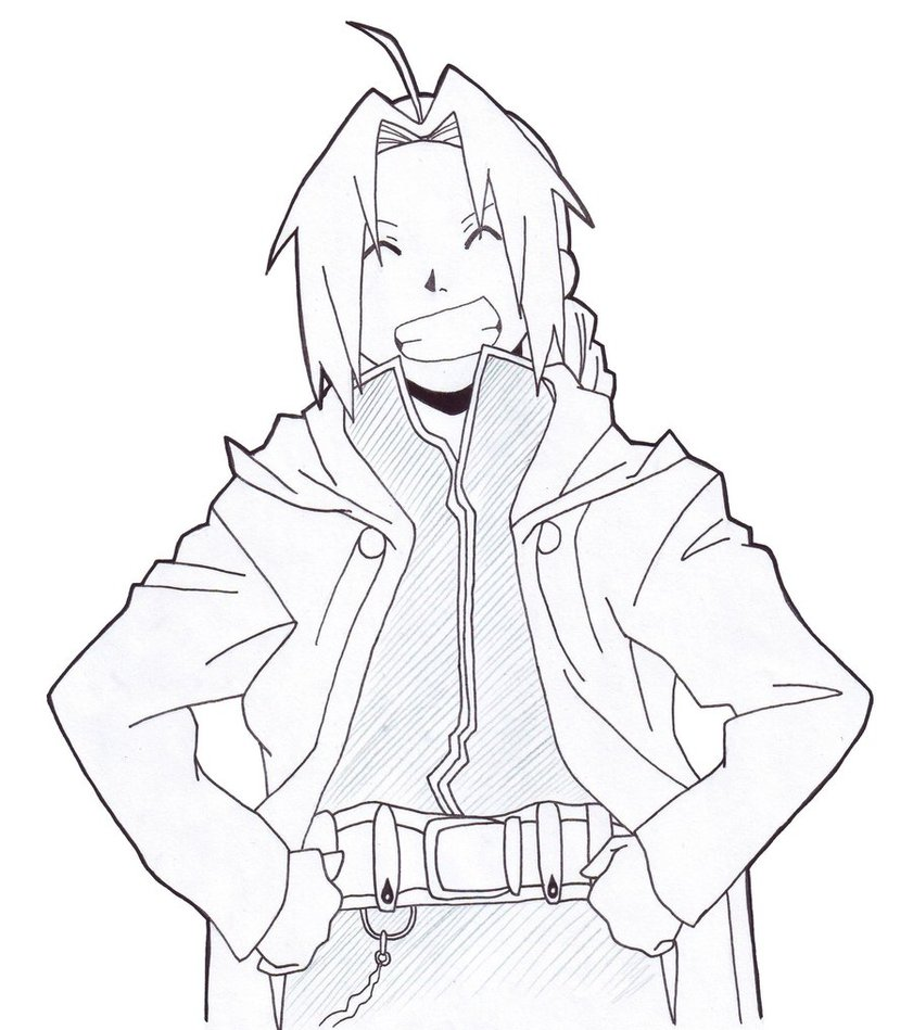 841x949 Fma Edward Elric By Shareonthepark