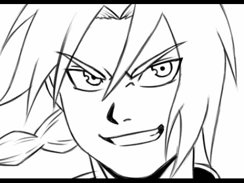 480x360 How To Draw Edward Elric Step By Step!