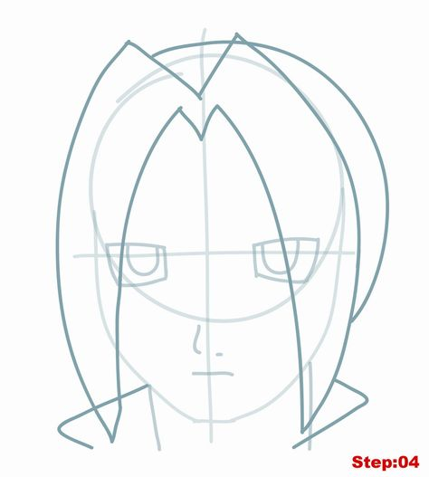474x527 Drawing Edward Elric From Fullmetal Alchemist Tutorial Step 04