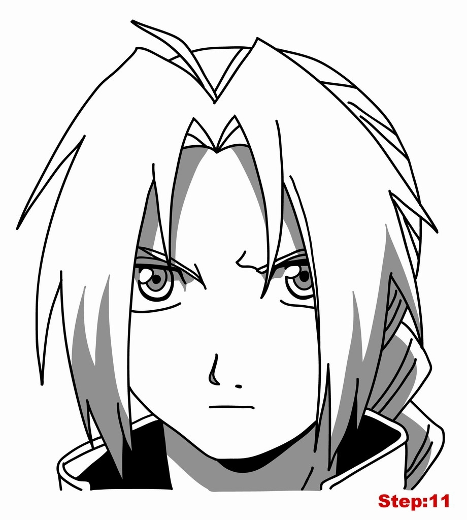 920x1024 Pictures To Draw How To Draw Edward Elric From Fullmetal Alchemist