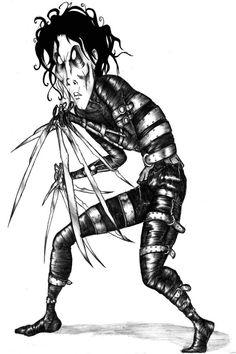 236x354 Edward Scissorhands By ~shinanai. Edward Scissorhands