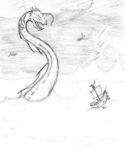 408x488 Eel Monster By Spyrolover8459