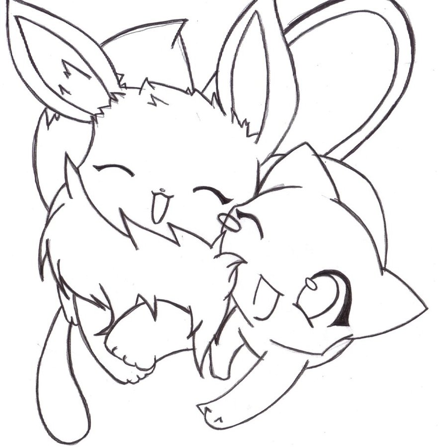 Eevee Drawing at GetDrawings.com | Free for personal use Eevee ...