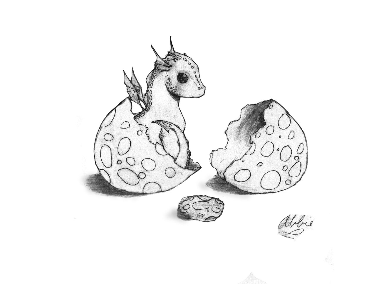 1280x966 Cute Baby Dragons Baby Dragon And Egg By Znnai