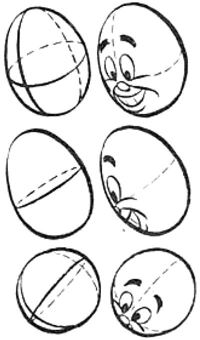 400x678 Drawing Cartoon Heads From Every Angle And Position Tutorial