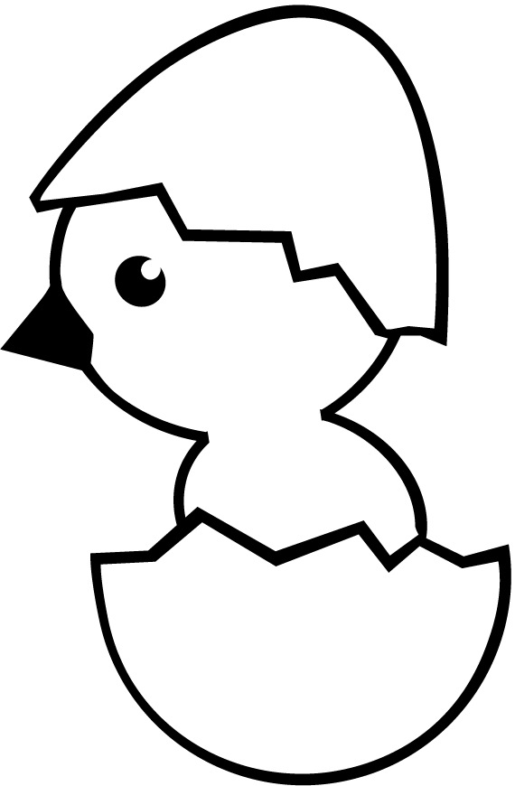 570x870 Worksheet Of Cute Cartoon Chick Hatching From Egg
