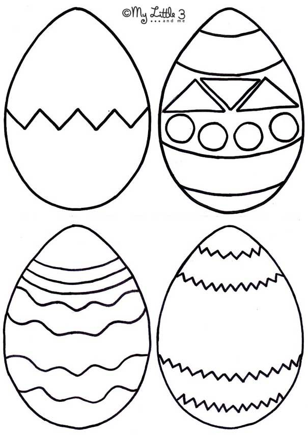 605x852 The Best Egg Template Ideas On Easter Egg Template