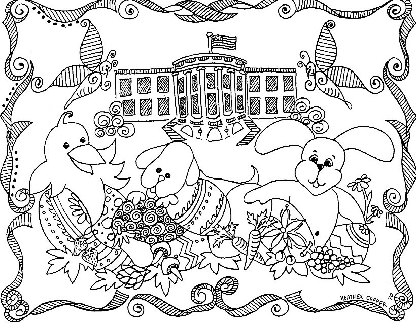 820x637 White House Easter Egg Roll 2012 Download The