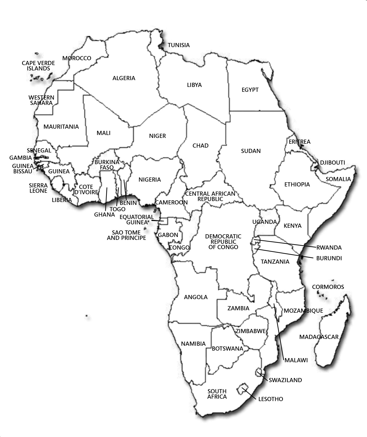1512x1800 Maps Of Africa Map Library Maps Of The World