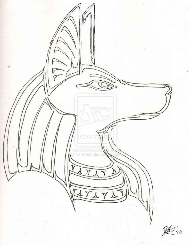 Egyptian Gods Drawing