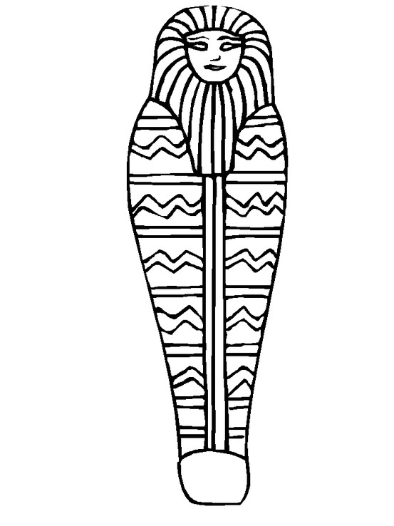 553x738 Mummy Coloring Page Coloring Book Adult Coloring