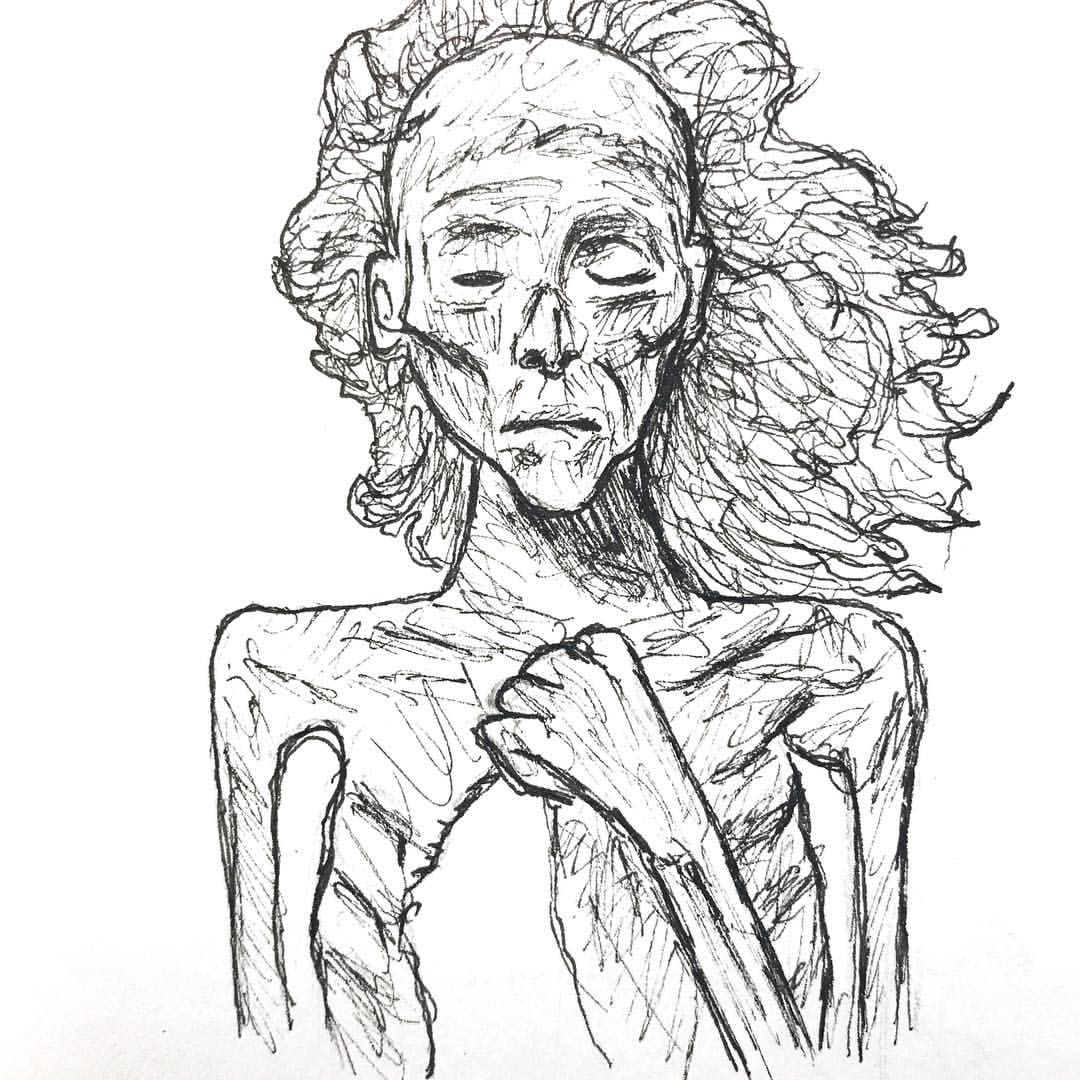 1080x1080 Drawing Mummies To Get A Sense The Facial Bone Structure