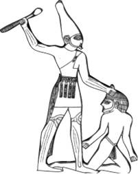 Egyptian Person Drawing