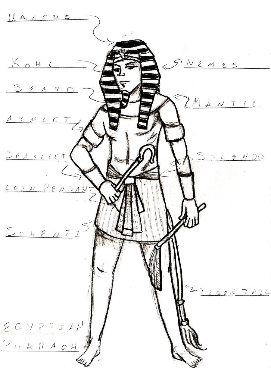 900x1221 Egyptian Pharaoh By Junvisuals