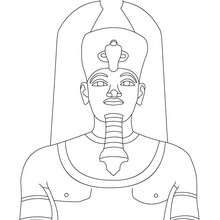 220x220 Pharaoh Coloring Pages