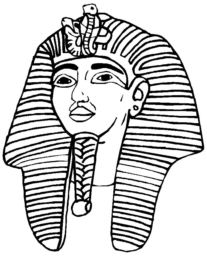 Nice Pharaoh Coloring Pages Picture Collection - Examples ...