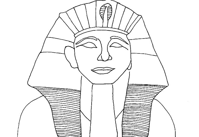 756x523 Pharaoh Coloring Pages Coloring Page For Kids