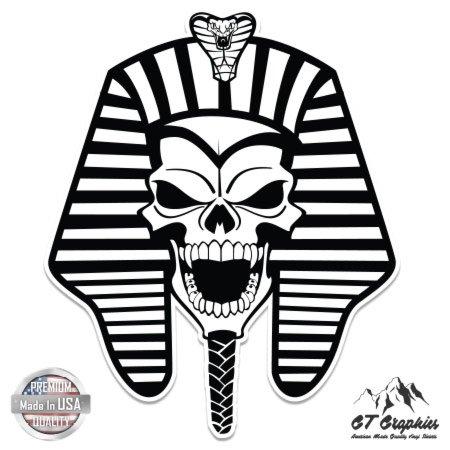450x450 Pharaoh Skull King Tut Egyptian