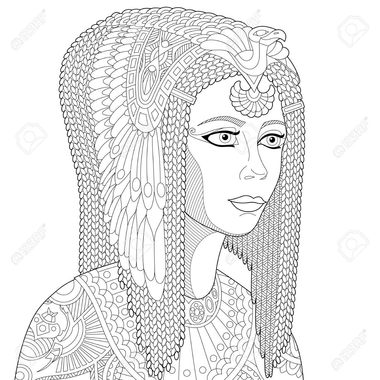 Egyptian Queen Drawing at GetDrawings.com | Free for ...