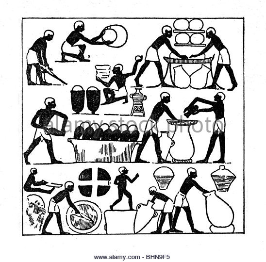 548x540 Brewing In Ancient Egypt Stock Photos Amp Brewing In Ancient Egypt