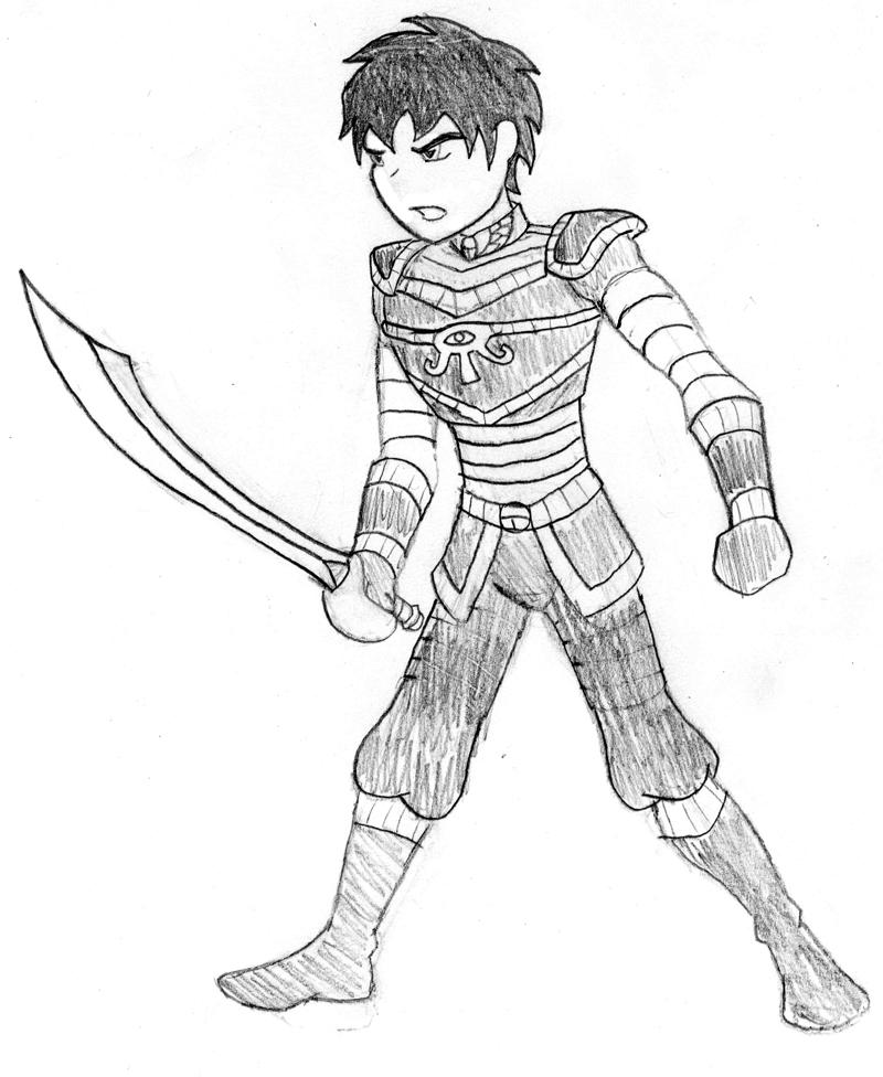 800x976 Ryu Gi Egyptian Style Armor By Ryu Gi