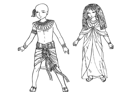 407x303 Ancient Egyptian Clothing