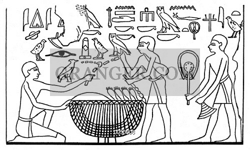 500x300 Image Of Ancient Egypt Market.