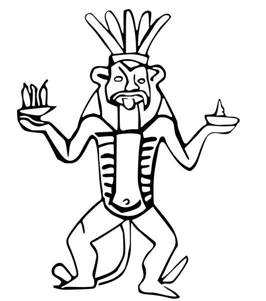 531x601 Online Database Of Ancient Egyptian Demons Created To Help Work