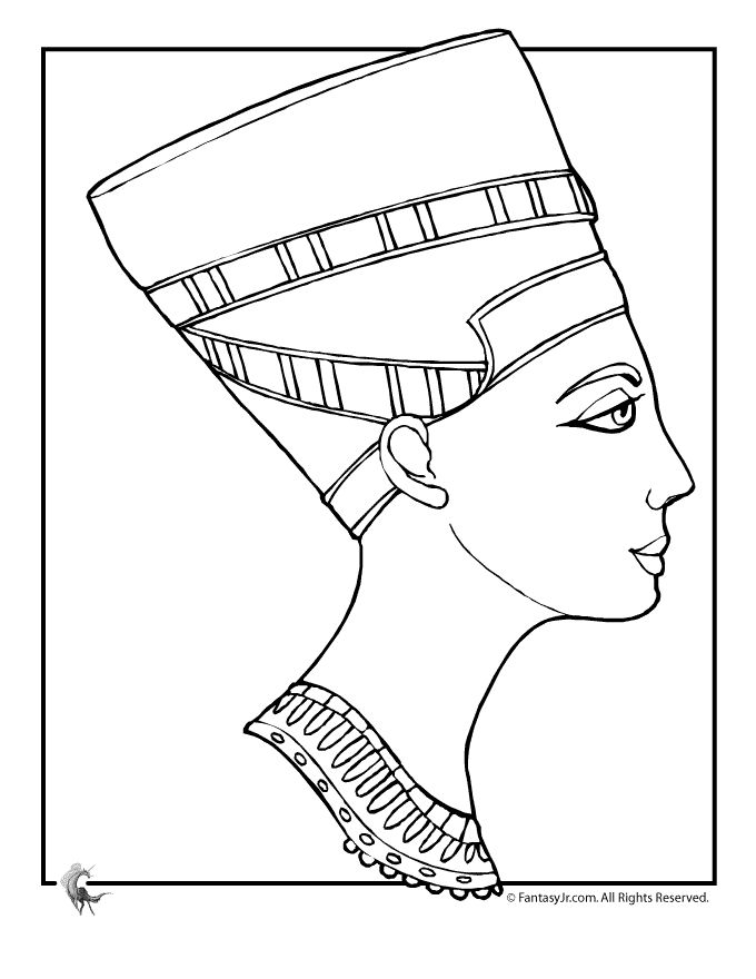 Egyptians Drawing