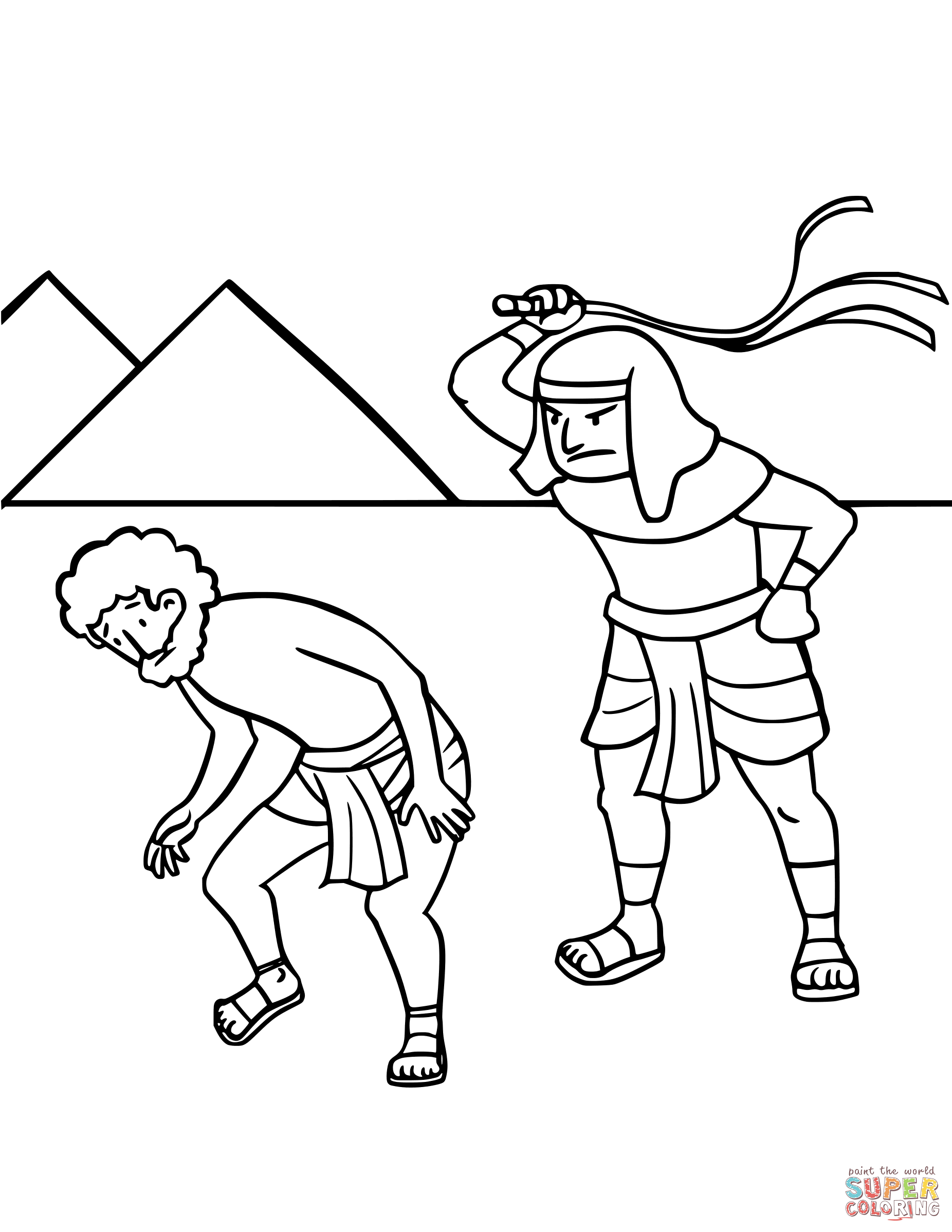 1852x2397 Moses Coloring Pages Free Coloring Pages