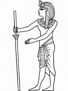 236x314 Free Coloring Page Coloring Egypt Fresco. Egyptian Drawing On
