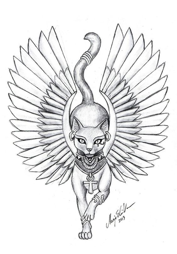 564x811 My Next Tattoo. This Will Be On My Right Side! Love Isis! My
