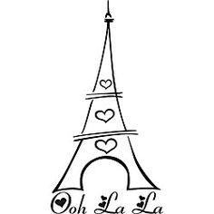 236x236 Paris Room Decor P's Paris Room Tower, Sketches