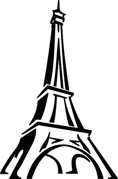 Eiffel tower drawing black and white at getdrawings free for 395x600 eiffel tower wall art wall art canvas print tower in black and thecheapjerseys Choice Image