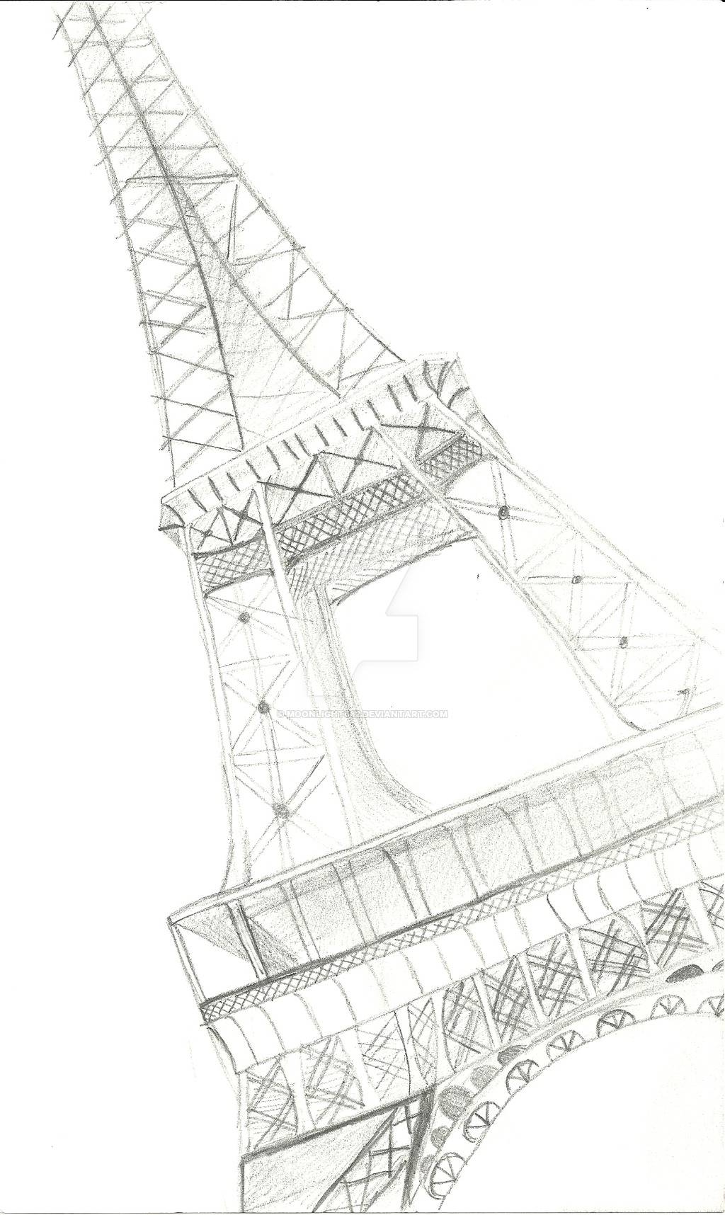 1024x1716 Eiffel Tower Doodle By Moonlight662