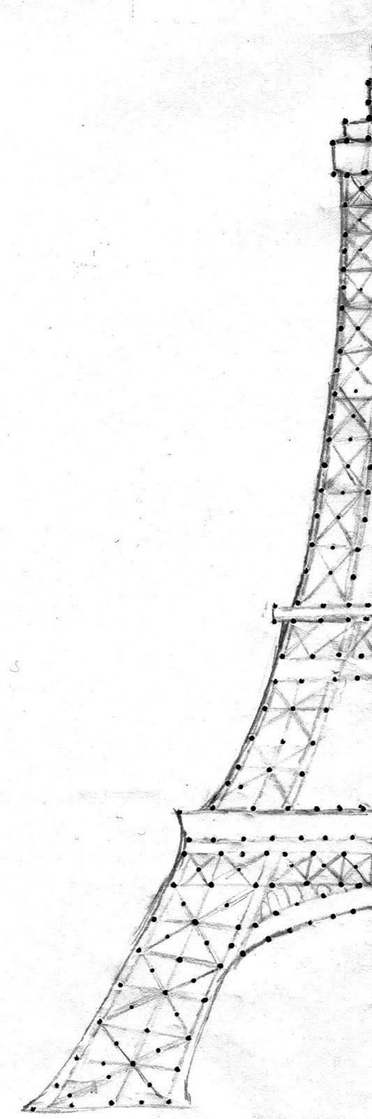 533x1600 Richela Fabian Morgan (Craftyrichela) Eiffel Tower Embroidery Pattern