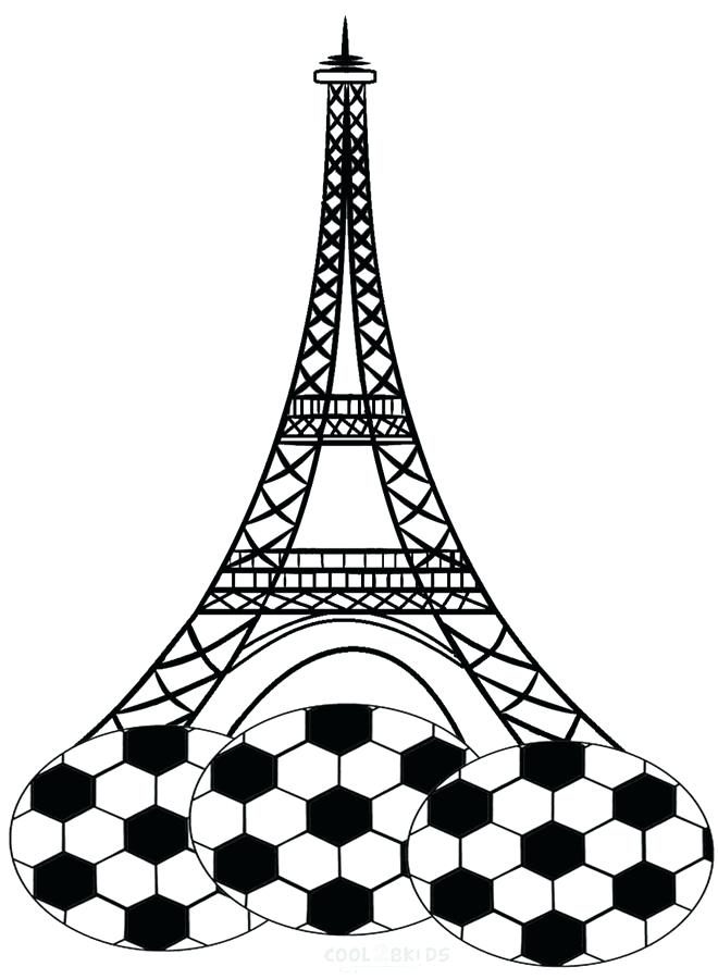 660x900 Eiffel Tower Coloring Pages Free Printable Tower Coloring Pages