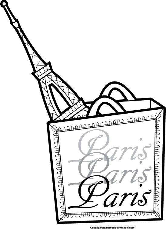 548x756 Free Eiffel Tower Clipart