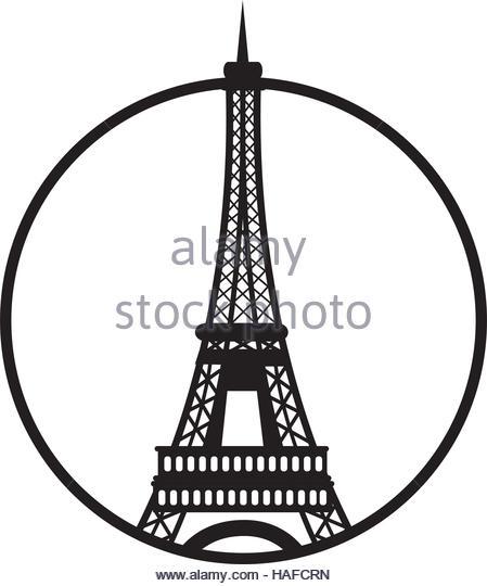 449x540 Paris Eiffel Tower Stock Vector Images