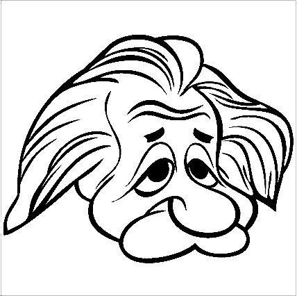 428x426 Deluxe Albert Einstein Cartoon