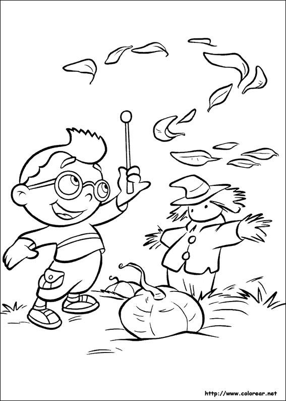 Dibujos para Colorear Mini Einsteins 20 Little Einsteins t